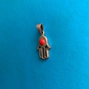 Israeli Made Hamsa Pendant